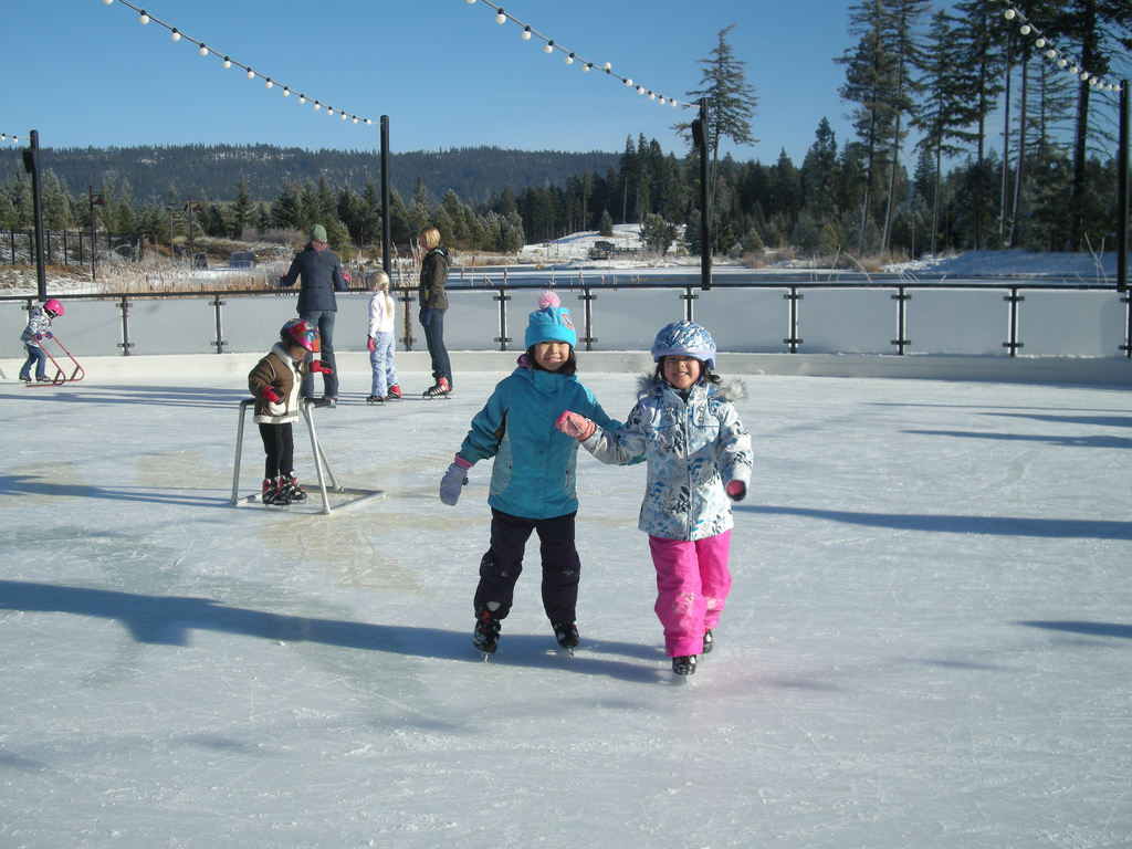 Suncadua Resort outdoor skating arena
