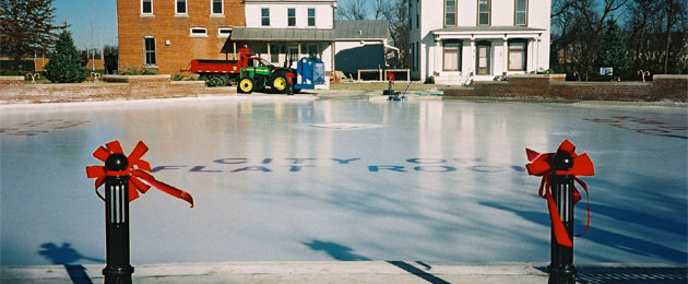 Flat Rock Outdoor Ice Rink