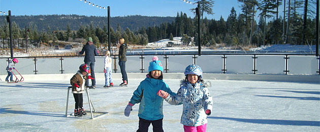 Suncadia Resort Outdoor Ice Rink